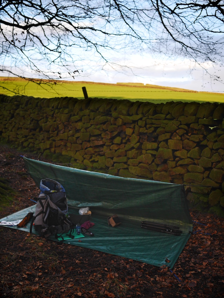 Edale Microadventure camping spot